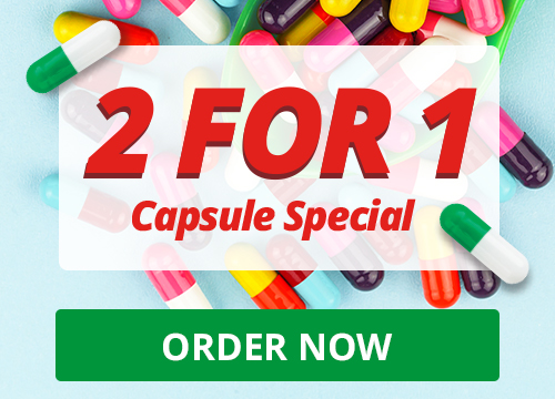 2 for 1 Capsule Special