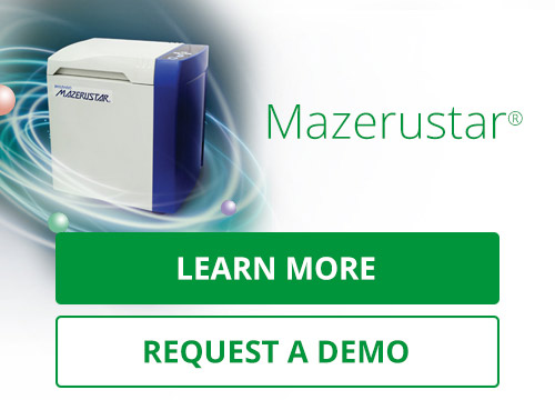 Mazerustar. A Revolutionary Mixer. Combining the need for both speed and content uniformity, the Mazerustar is ideal for mixing topicals and liquids.