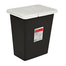 RCRA HAZARDOUS WASTE CONTAINER, SHARPSAFETY (18 Gallon)