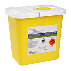 CHEMOTHERAPY CONTAINER, SHARPSAFETY (2 Gallon)