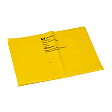 CHEMOPLUS CHEMO SOFT WASTE BAG, COVIDIEN (Yellow, 4 mil, 2 Gallon)