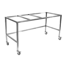 "BASE STAND w/CASTERS, FLOW SCIENCES (4 ft, 48"" × 24"")"
