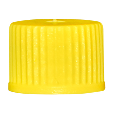 INHALATION VIAL CAP (Yellow, OD 13 mm, Non-Sterile)