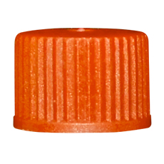INHALATION VIAL CAP (Orange, OD 13 mm, Non-Sterile)