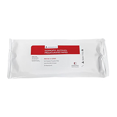 "WIPES, ISOPROPYL ALCOHOL PRESATURATED (9"" × 9"", ISO Class 5 – 8, Sterile)"