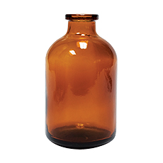 SERUM BOTTLE (Amber, 100 mL, 20 mm, Non-Sterile)