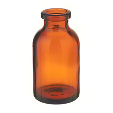 SERUM BOTTLE  (Amber, 10 mL, 20 mm, Non-Sterile)